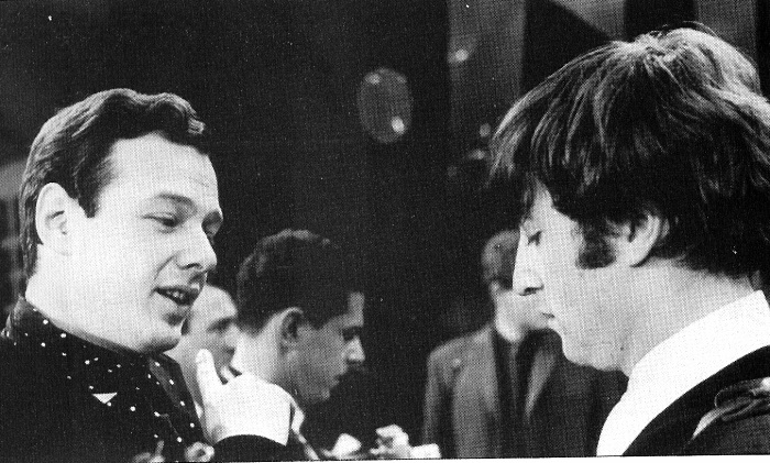 brian and john lennon